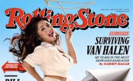 Freaking Snooki Rides Rocket in Rolling Stone