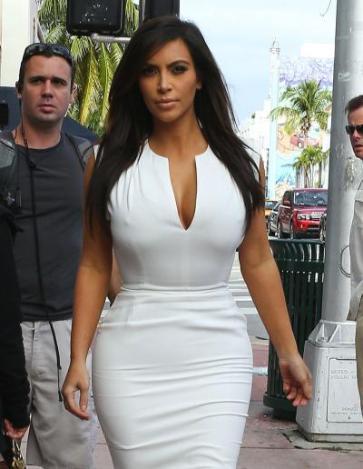 Kim Kardashian Walks