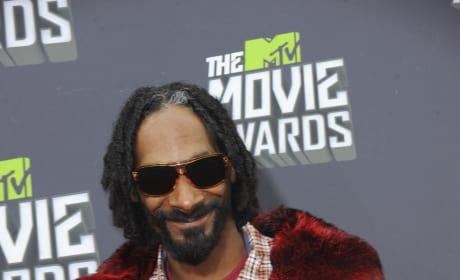 Snoop at the MTV Movie Awards