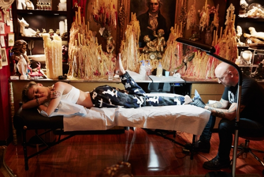 Miley Cyrus Tattoo Pic