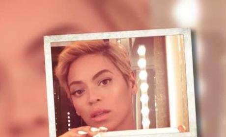 Beyonce Hair Change