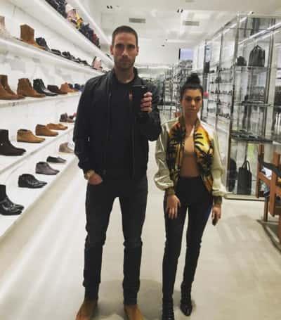 Kourtney Kardashian during New York Fashion Week