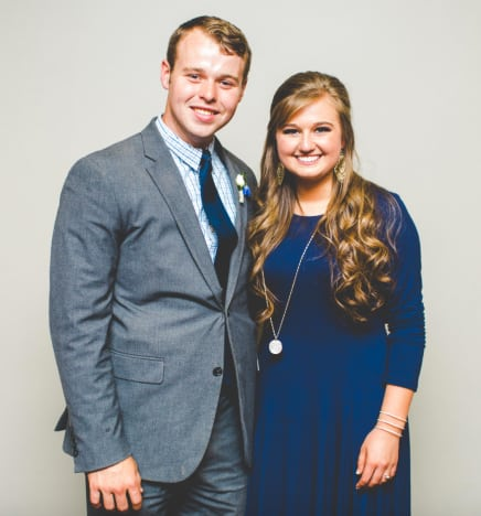 Happily married husband and wife: Joseph Duggar Kendra Caldwell
