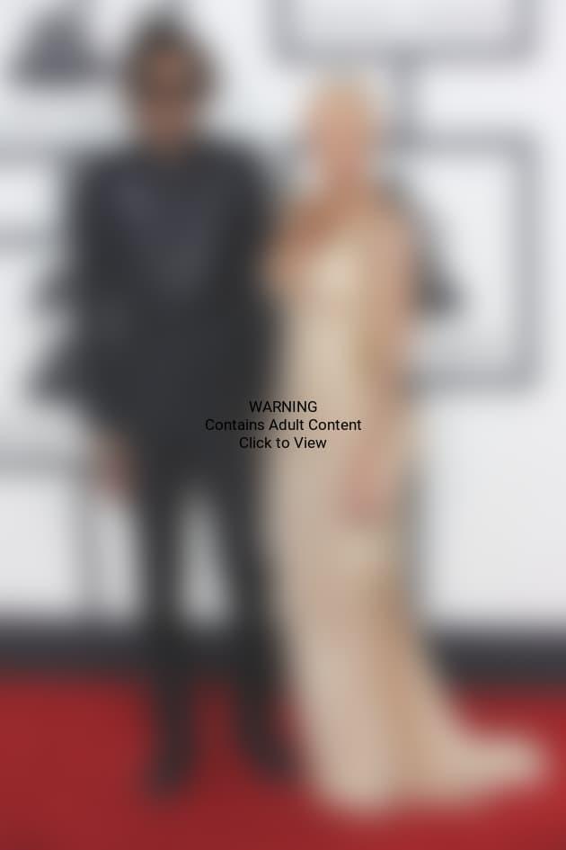 Wiz Khalifa and Amber Rose at the Grammys