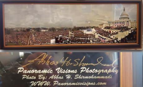Trump Inauguration Photo