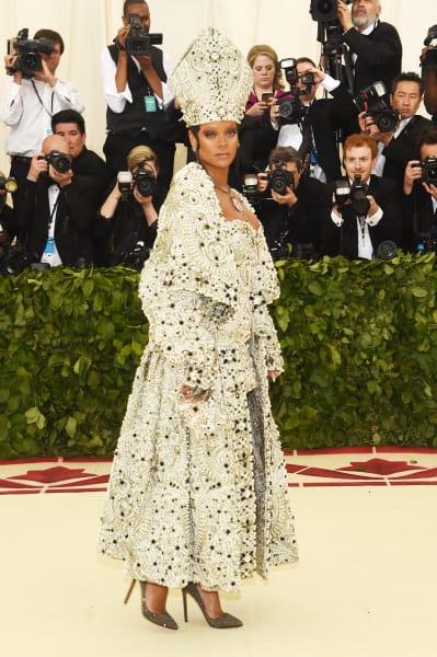 Rihanna at the Gala