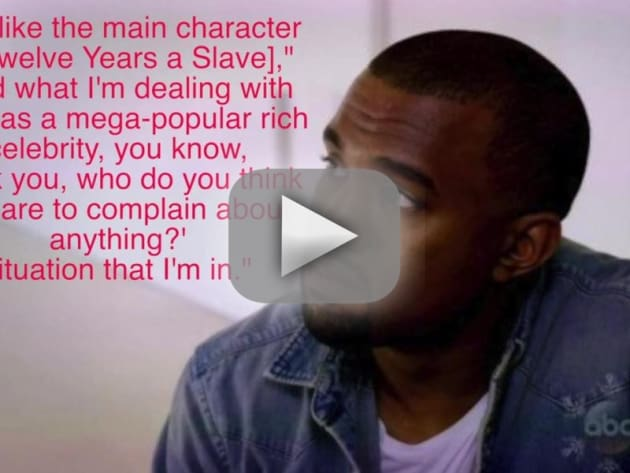 Kanye West Compares Self to Slave
