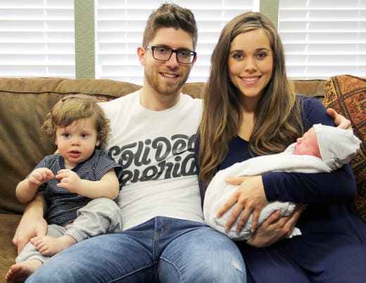 Jessa Duggar and Ben Seewald Family Photo
