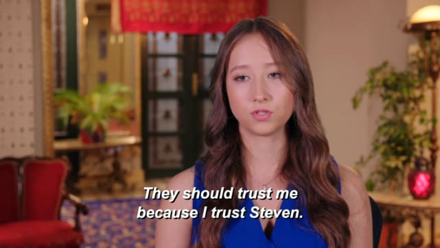 But it's Alina's decision to make