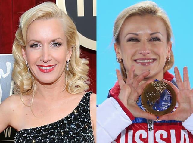 Angela Kinsley & Tatiana Volosozhar