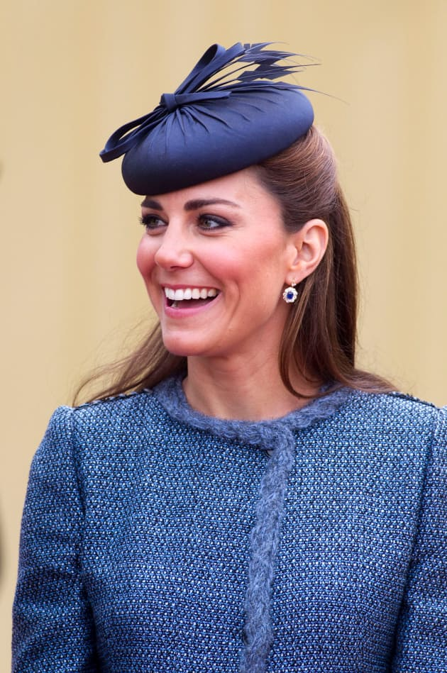 Kate Middleton In A Blue Hat The Hollywood Gossip