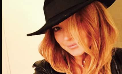 Lindsay Lohan Deletes All Instagram Pics, Posts Arabic Message