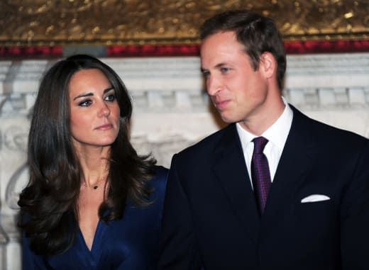 Kate Middleton and Prince William: Engagement Photocall