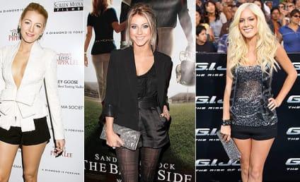 Celebrity Fashion Face-Off: Blake Lively vs. Julianne Hough vs. Heidi Montag