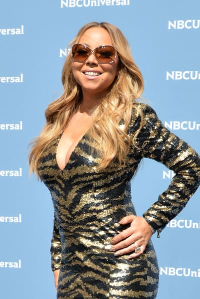 Mariah Carey on the Red Carpet