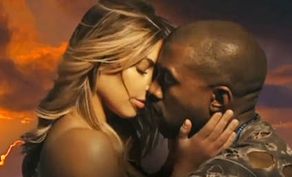 "Kanye West ""Bound 2"" Music Video: Kim Kardashian Topless! On a Motorcycle!"