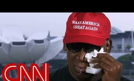 Dennis Rodman Cries Over Trump-Kim Summit, Confirms We're Living In Most Bonkers Timeline