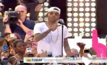 Chris Brown Performs on Today, Electrifies Team Breezy