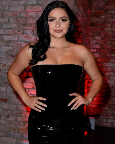 Ariel Winter in a Black Corset