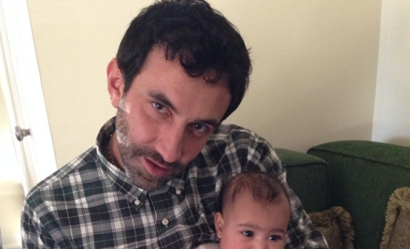 North West and Riccardo Tisci