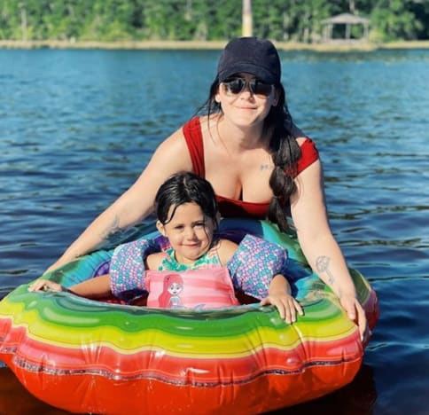 Jenelle, Ensley and a Tube
