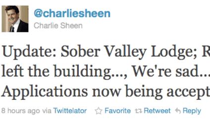 Rachel Oberlin and Charlie Sheen: It Was Over!