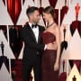 Behati Prinsloo with Adam Levine