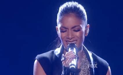 Nicole Scherzinger Debuts New Single on The X Factor
