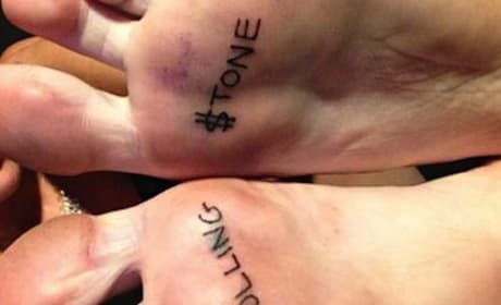 Miley Cyrus' Tattoos