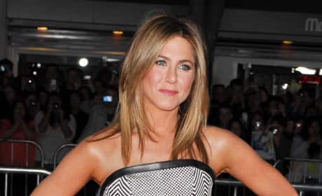 Is Jennifer Aniston really happy for Brangelina?