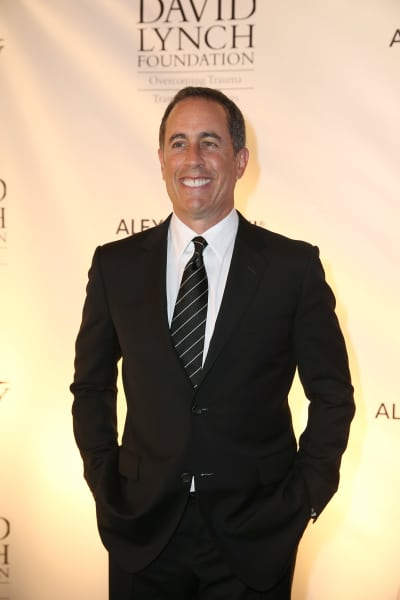 Jerry Seinfeld on the Red Carpet