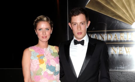 Nicky Hilton and James Rothschild