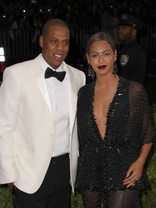Jay Z and Beyonce MET Gala Pic