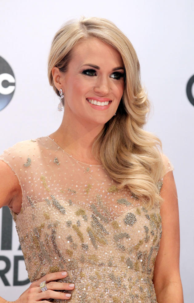 Carrie Underwood at the CMAs