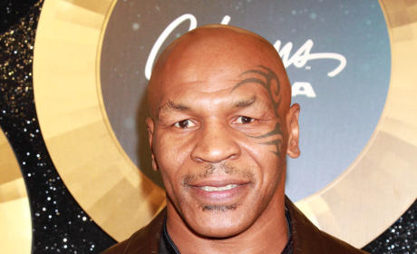 Mike Tyson Red Carpet Image
