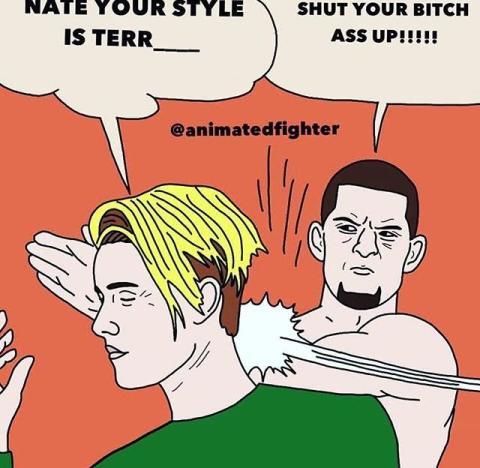 Nate Diaz vs. Justin Bieber