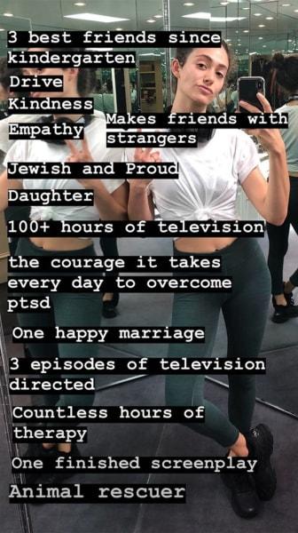 Emmy Rossum I Weigh posts 02