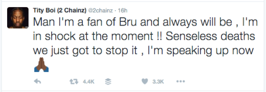 2 Chainz tweet RIP Bankroll Fresh