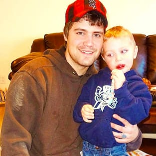 Levi Johnston and son Tripp