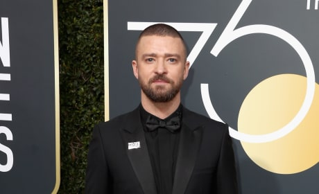 Justin Timberlake at the Globes