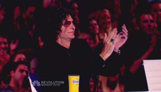 Howard Stern as America's Got Talent Judge