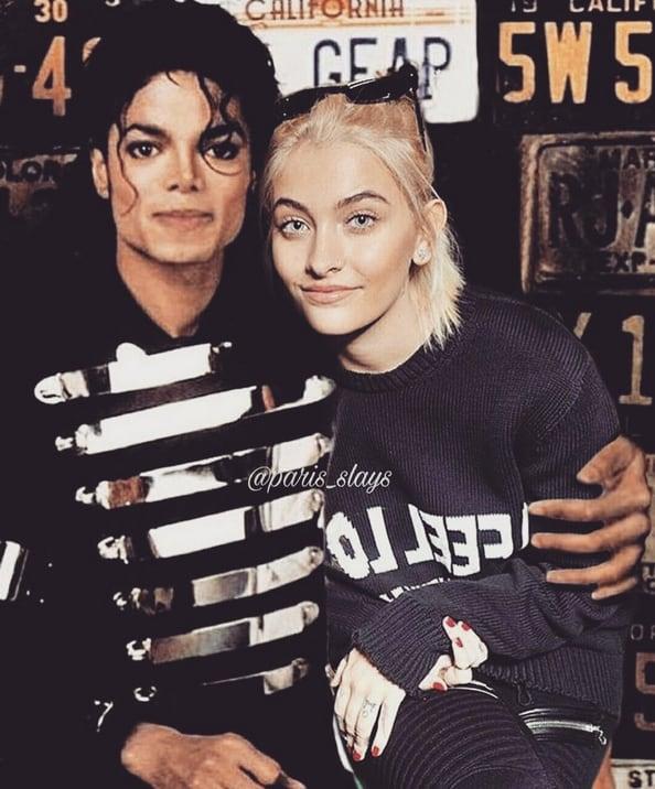 Paris Jackson and Michael Jackson, a Fan Edit