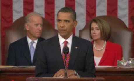 Obama Heckled During Health Care Speech