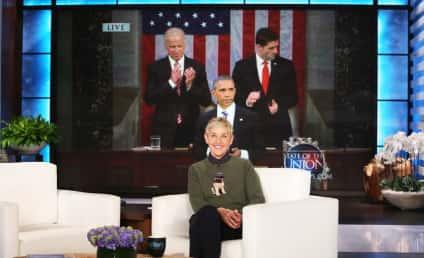 Ellen DeGeneres to Barack Obama: You Changed My Life!