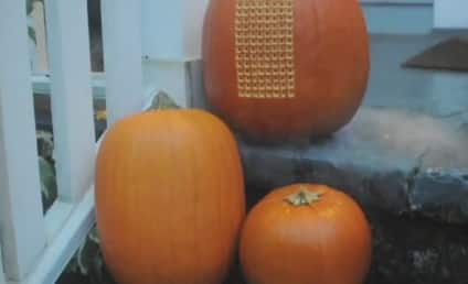 Pumpkin Tetris: Real! Amazing!