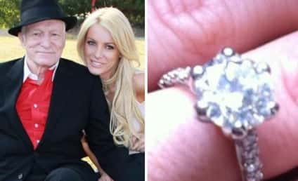 Crystal Harris Shows Off Engagement Ring