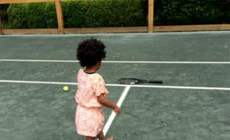 Blue Ivy Tennis Court Photo