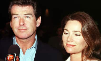 Pierce Brosnan Poses with Controversial Wife, Keely Shaye Smith