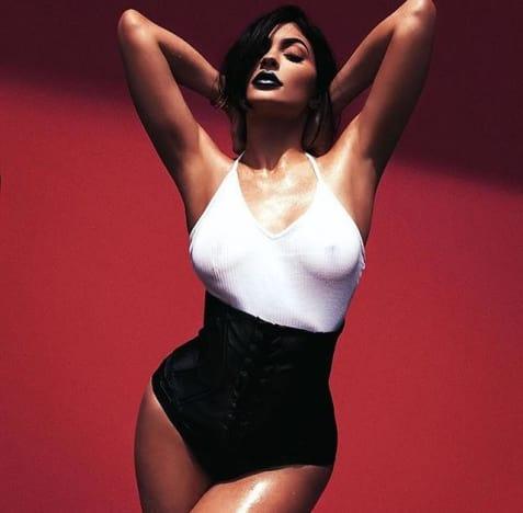 Kylie Jenner Nip Pic