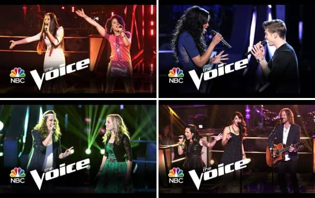 Music box vs melissa jimenez girl on fire the voice